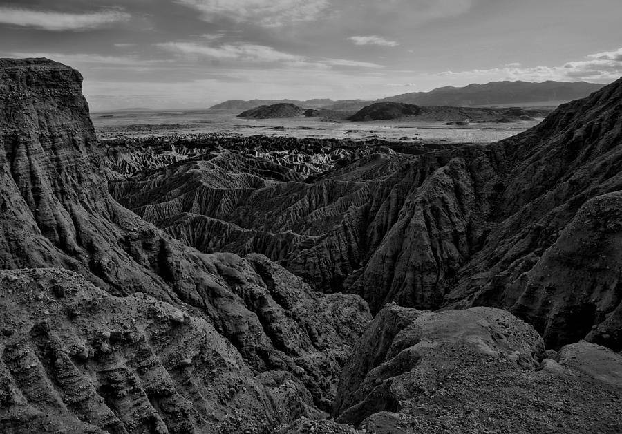Carrizo Badlands BW Nov 2013 by Jeremy McKay