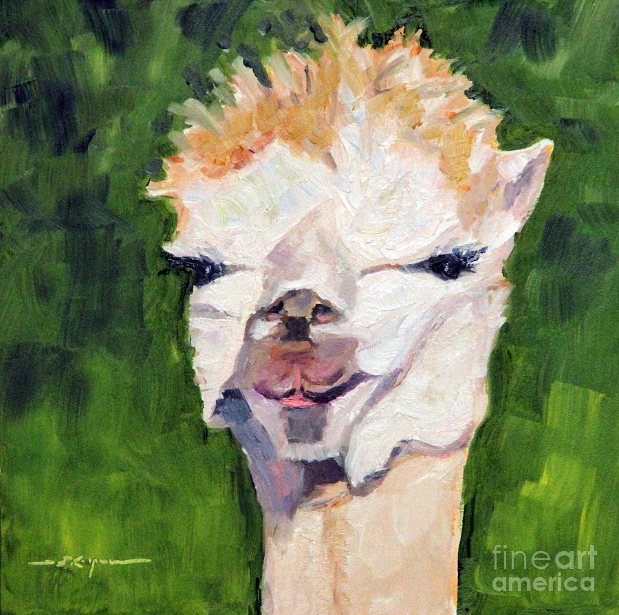 Carrot Top Painting