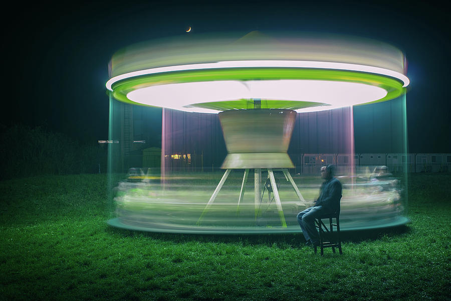 Motion Photograph - Carrousel by