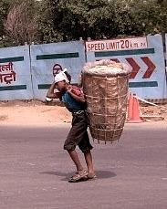 Inda Photograph - Carrying The Load by Sharon Costa