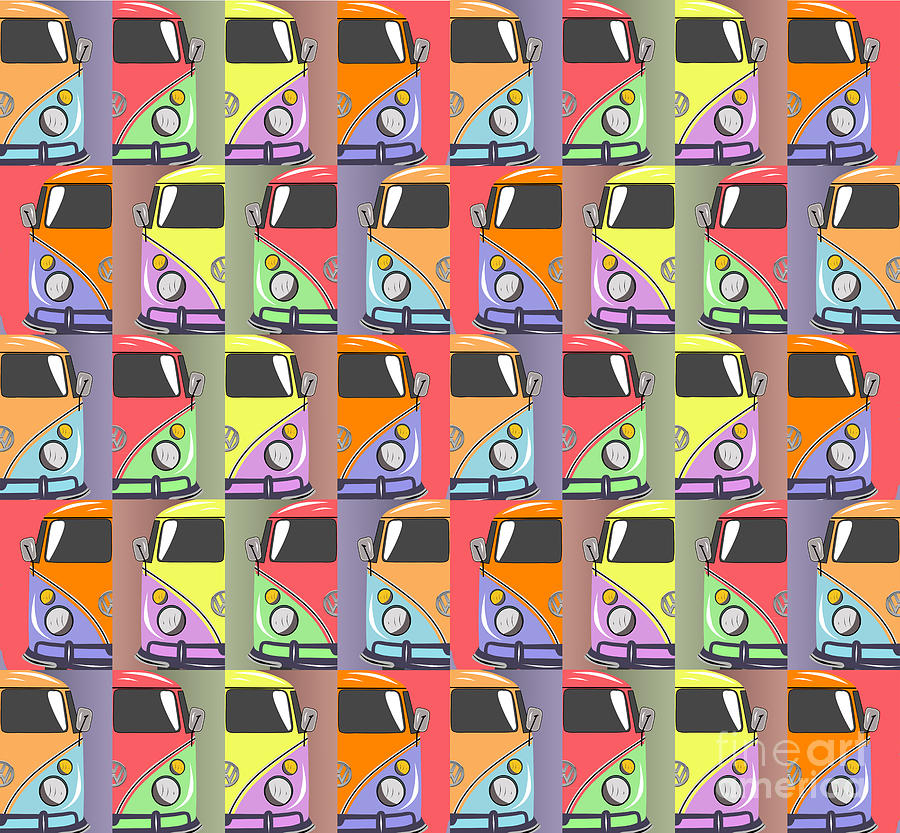 Car Digital Art - Cars Abstract  by Mark Ashkenazi