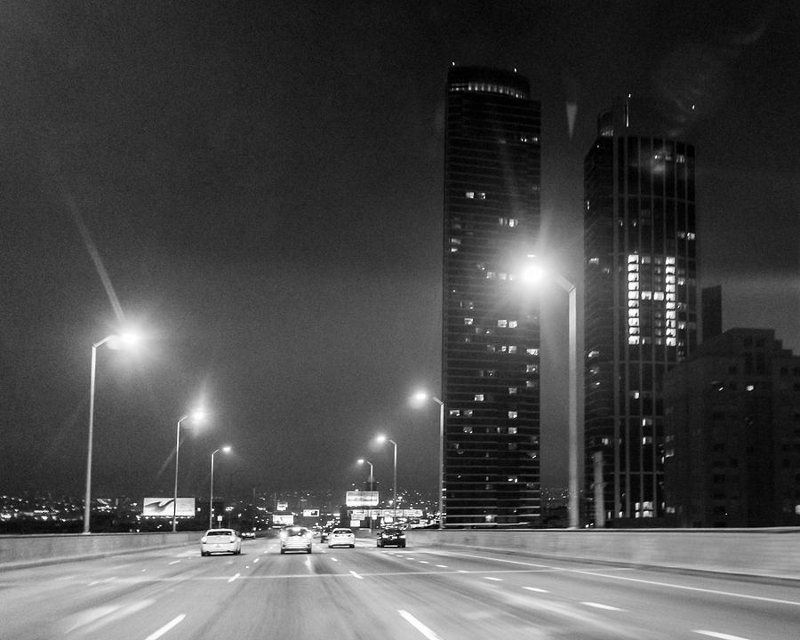 Cars Moving On Road At Night Photograph by Jesse Coleman / EyeEm