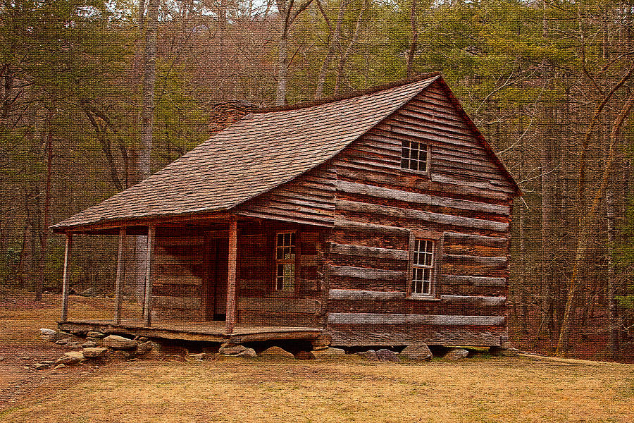 Carter Shields Cabin Photograph - Carter Shields Cabin 3 by Wild Expressions Photography