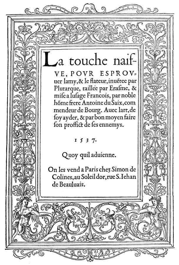 Cartouche Painting - Cartouches, 1537 by Granger