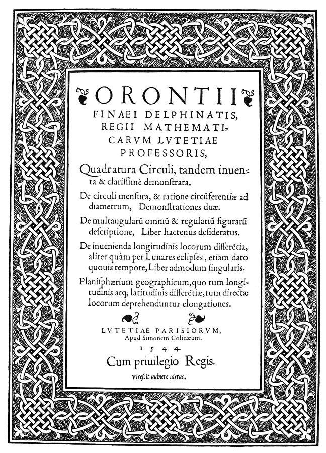 1544 Painting - Cartouches, 1544 by Granger