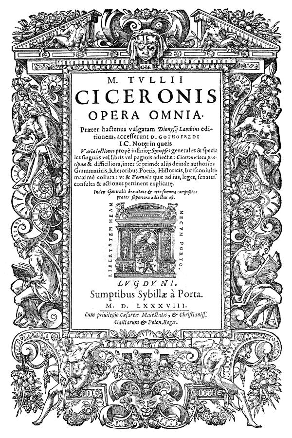 1588 Painting - Cartouches, 1588 by Granger