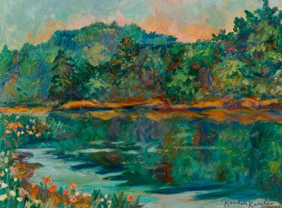Carvins Cove Painting - Carvins Cove by Kendall Kessler
