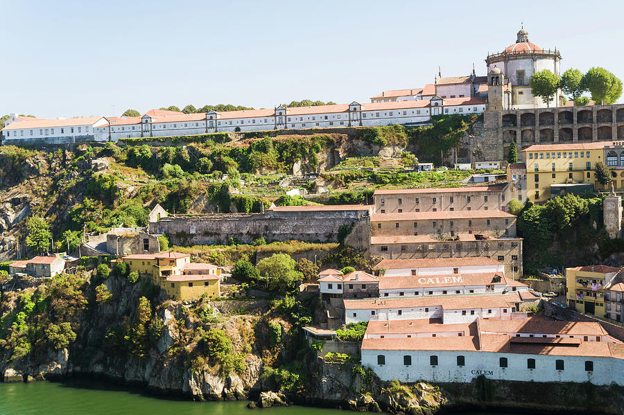 Casa Calem, Port Wine Houses, Porto Photograph by John Harper