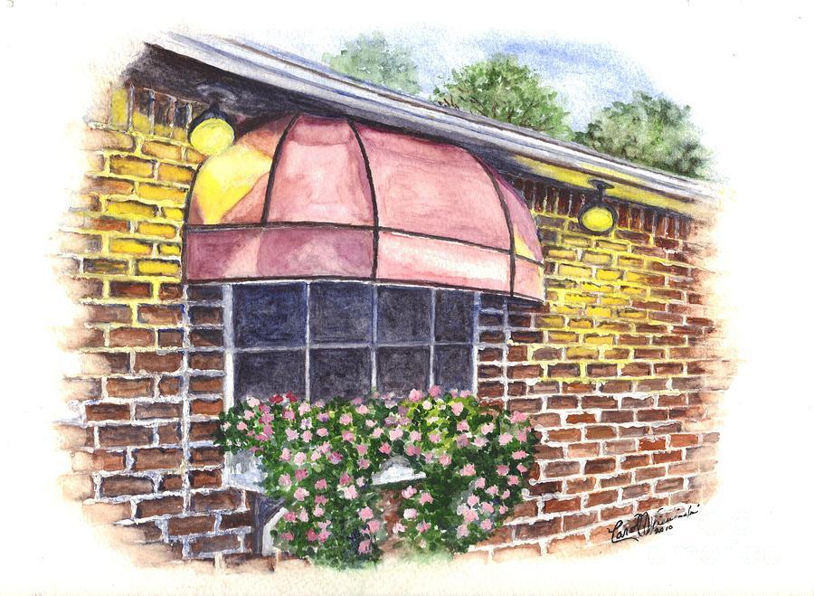 Restaurant Painting - Casa De Pasta by Carol Wisniewski