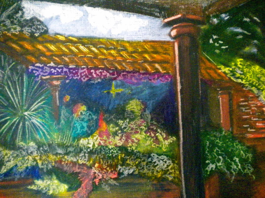 Casa Luna Painting - Casa Luna by Debi Starr