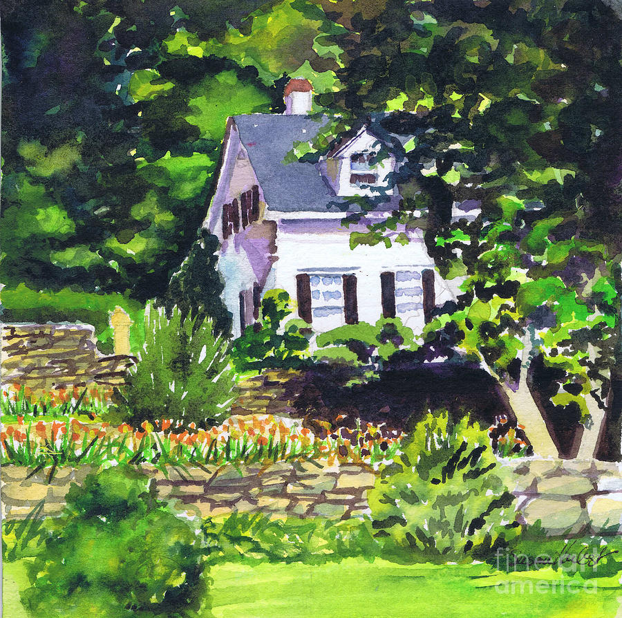 House Painting - Casa Peligro by Susan Herbst