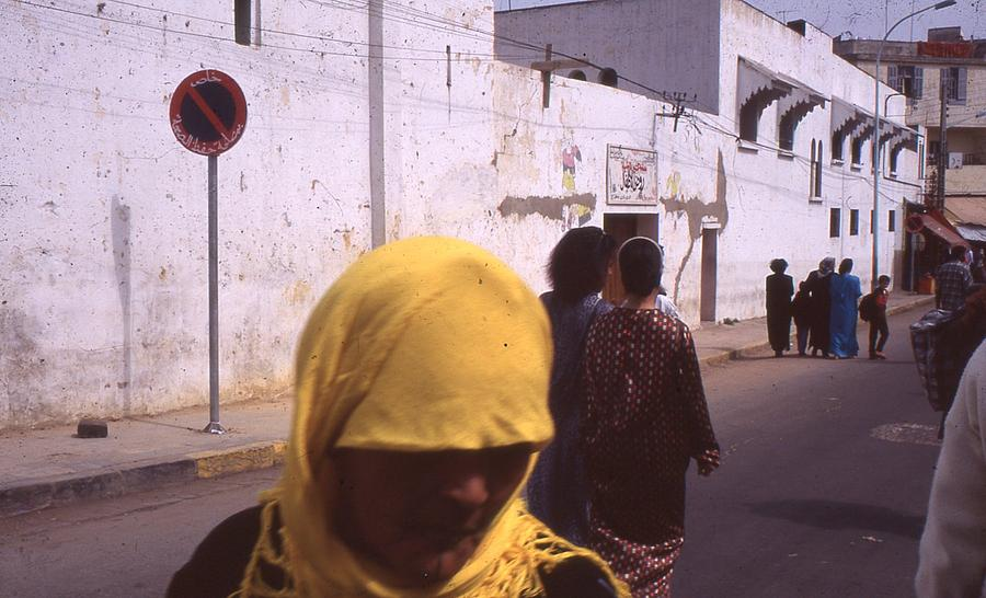 Yellow Photograph - Casablanca 1996 by Rolf Ashby