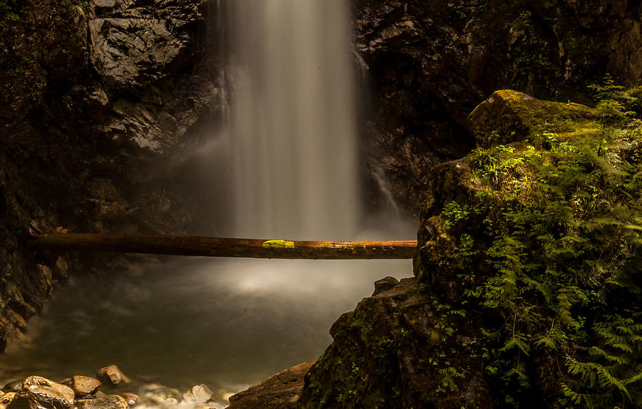 Waterfalls Photograph - Cascade Falls 8 by Sabine Edrissi