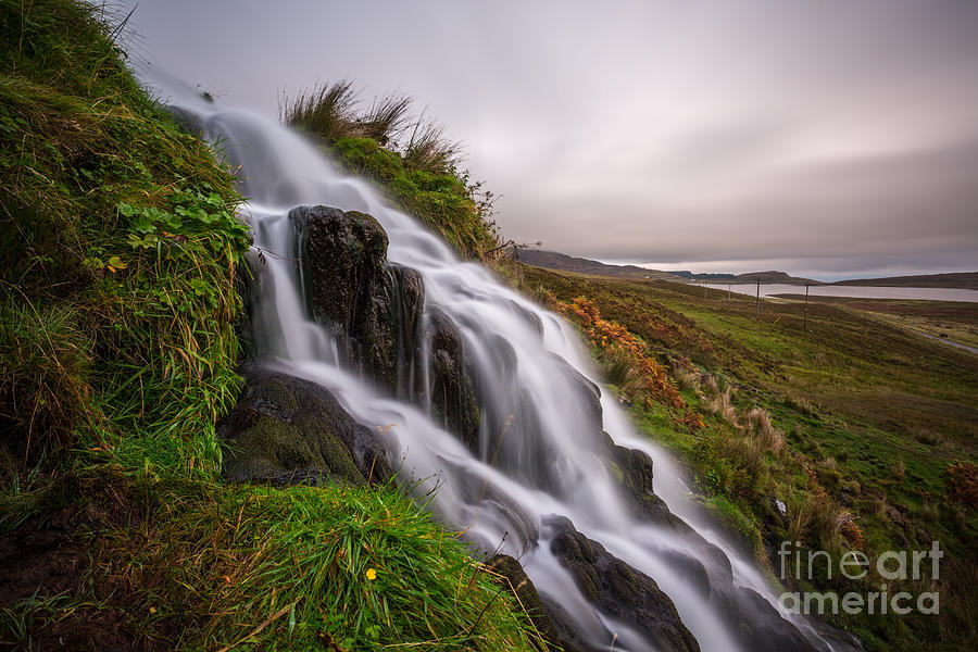 Landscape Photograph - Cascade by Matt  Trimble