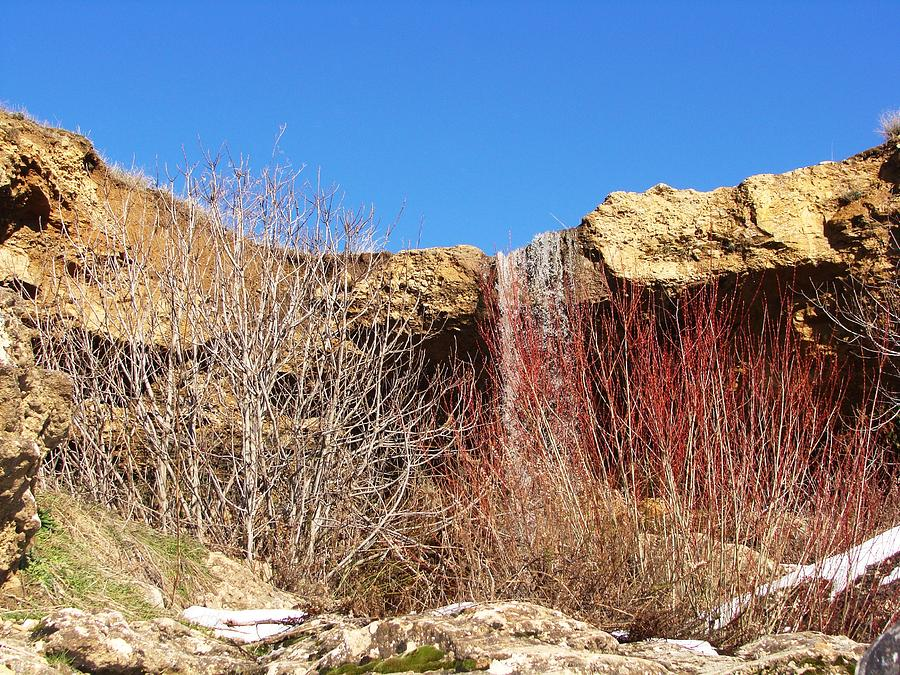 Cascades Delghoraf Photograph by Faouzi Taleb