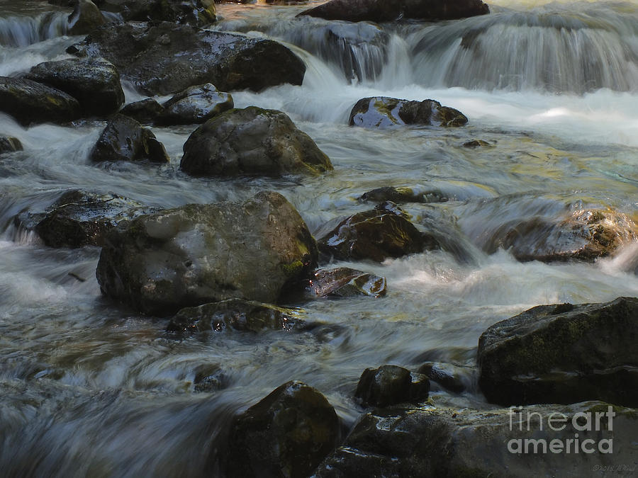 Background Photograph - Cascades by Heike Ward