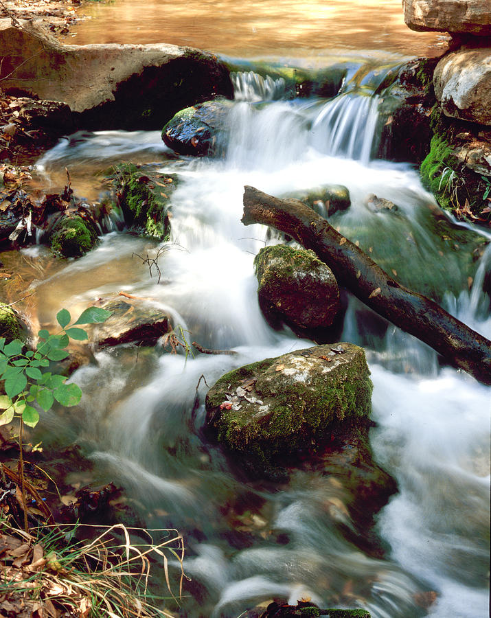 Cache Creek Photograph - Cascades in Roman Nose State Park by Richard Smith