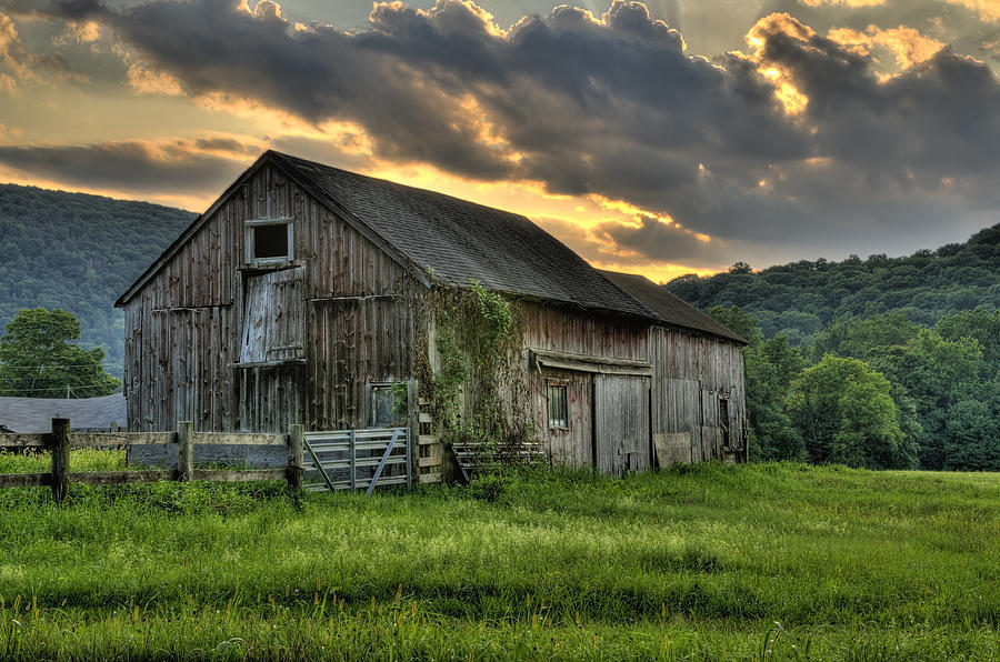 Casey S Barn Photograph By Expressive Landscapes Fine Art