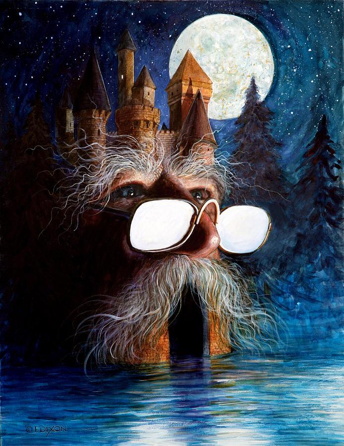 Fantasy Painting - Casolgye by Frank Robert Dixon