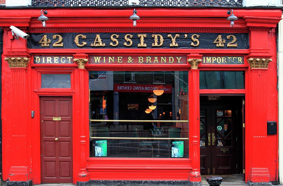Cassidys Pub, 42 Lower Camden Street Photograph by Eoin Clarke