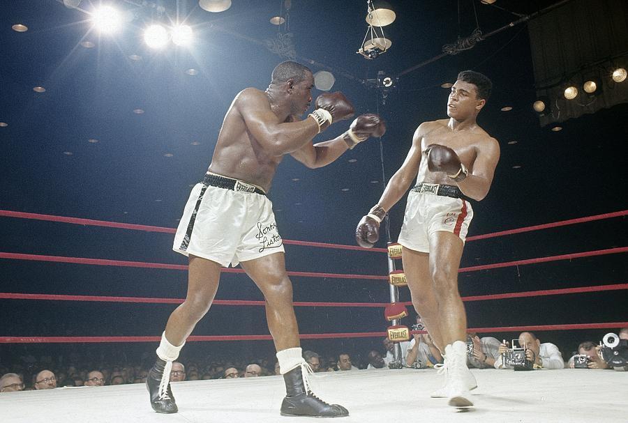 Cassius Clay v Sonny Liston Photograph by Focus On Sport