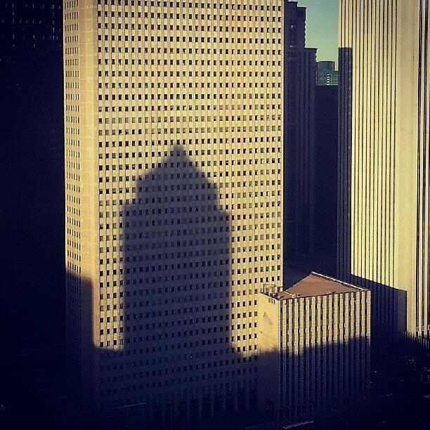 Chicago Photograph - Cast A Shadow by Jill Tuinier