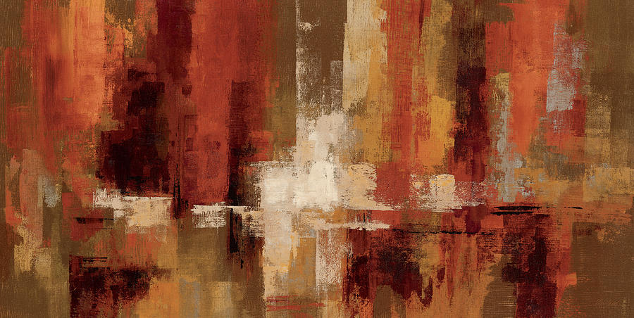 Abstract Painting - Castanets by Silvia Vassileva
