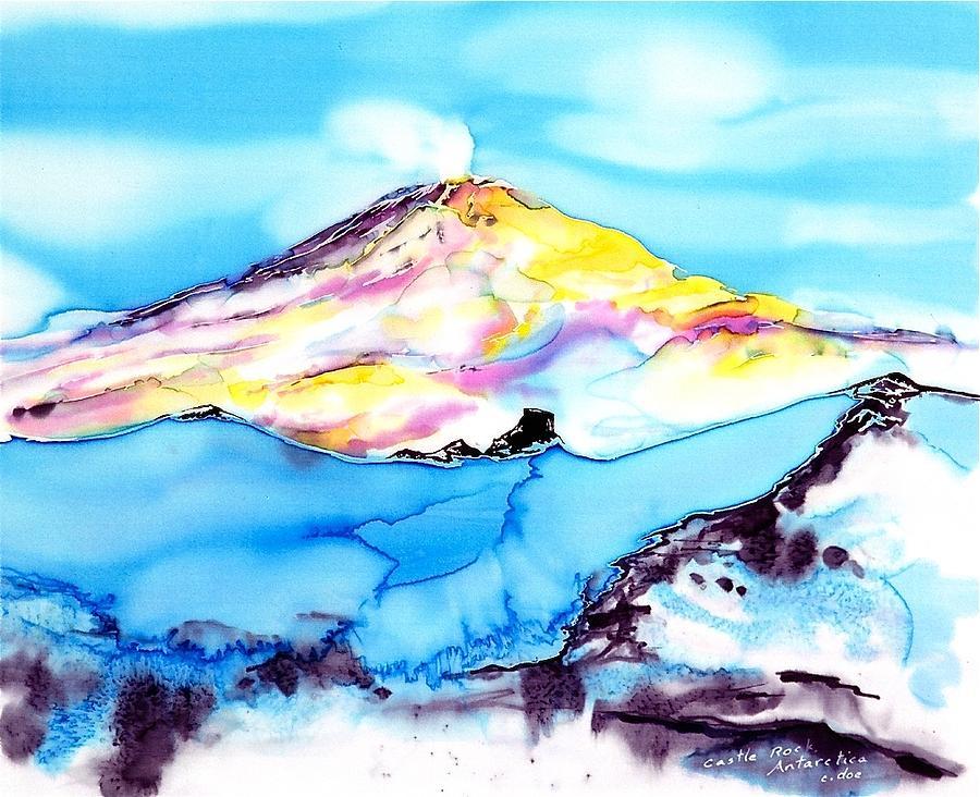 Antarctica Tapestry - Textile - Caste Rock Antarctica by Carolyn Doe