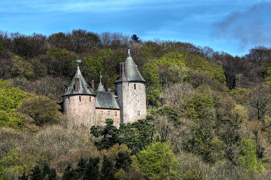 Castell Coch Photograph - Castell Coch Cardiff by Steve Purnell