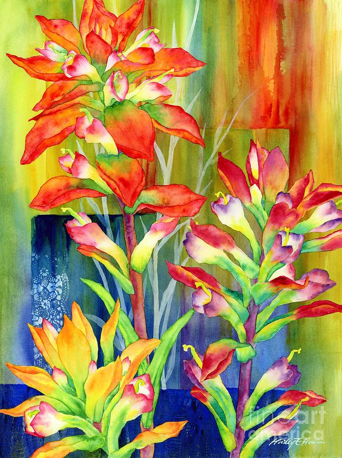 Castilleja Indivisa Painting