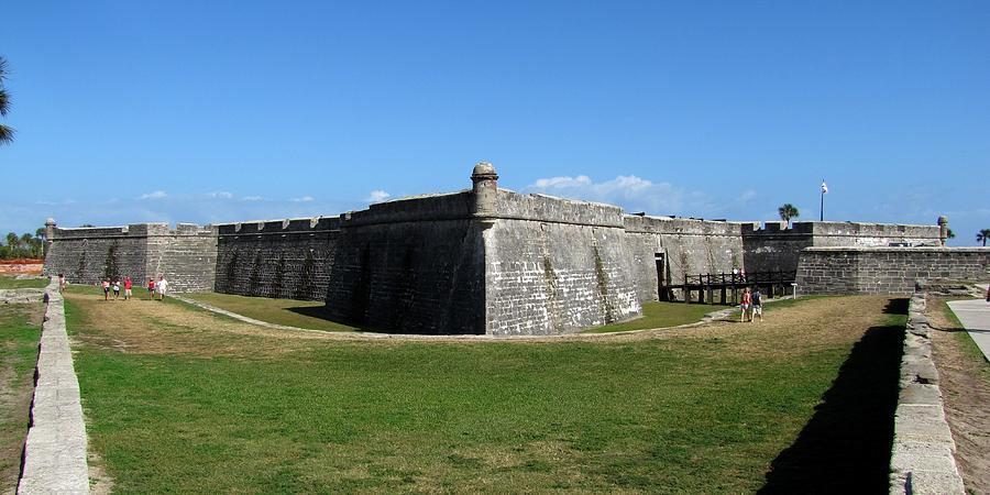 Florida Photograph - Castillo De San Marcos by Keith Stokes