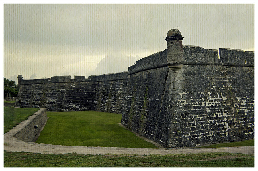 Fort Photograph - Castillo San Marcos 5 by Laurie Perry