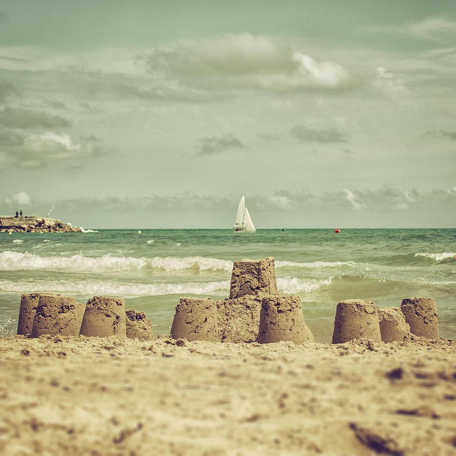 Castle And Sails Photograph by Copyright Alex Arnaoudov