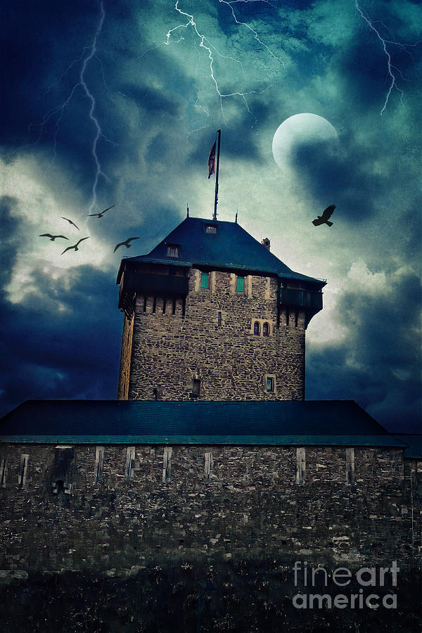 Castle Photograph - Castle Burg by Angela Doelling AD DESIGN Photo and PhotoArt