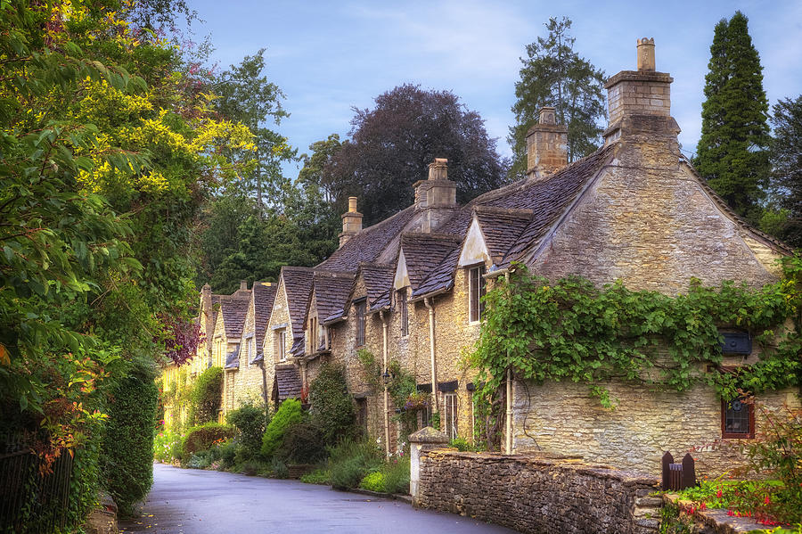 Castle Combe Photograph - Castle Combe by Joana Kruse