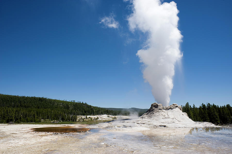 Castle Geyser - Yellowstone National Photograph by Ronhstock