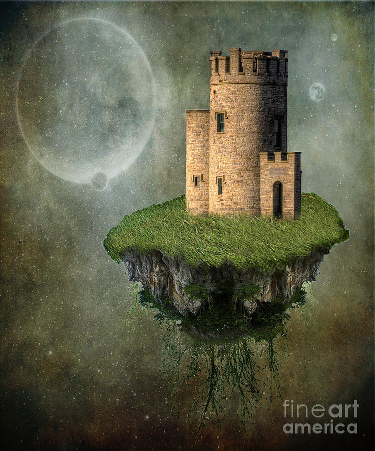 Ancient Photograph - Castle In The Sky by Juli Scalzi