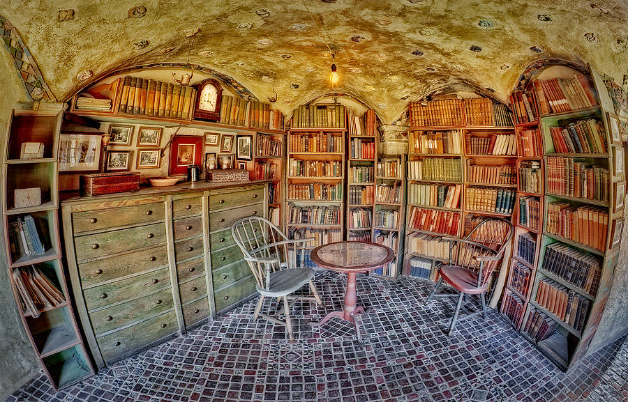 Byzantine Photograph - Castle Map Room by Susan Candelario