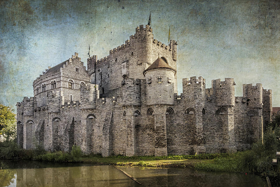 Castle Of The Counts Photograph
