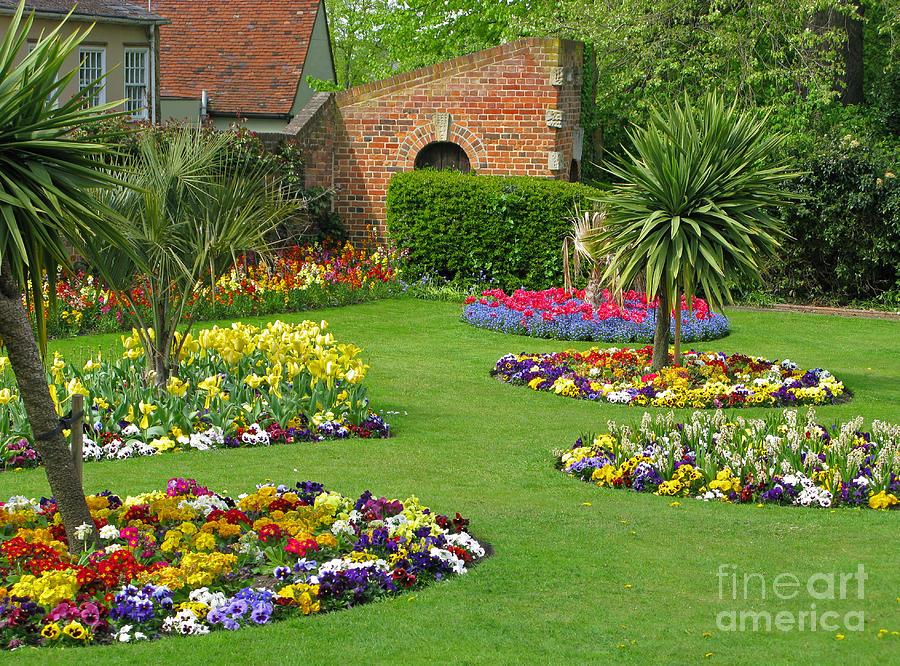 Garden Photograph - Castle Park Gardens  by Ann Horn