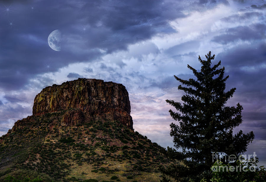 Beauty In Nature Photograph - Castle Rock by Juli Scalzi