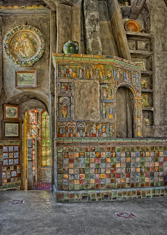 Byzantine Photograph - Castle Salon by Susan Candelario