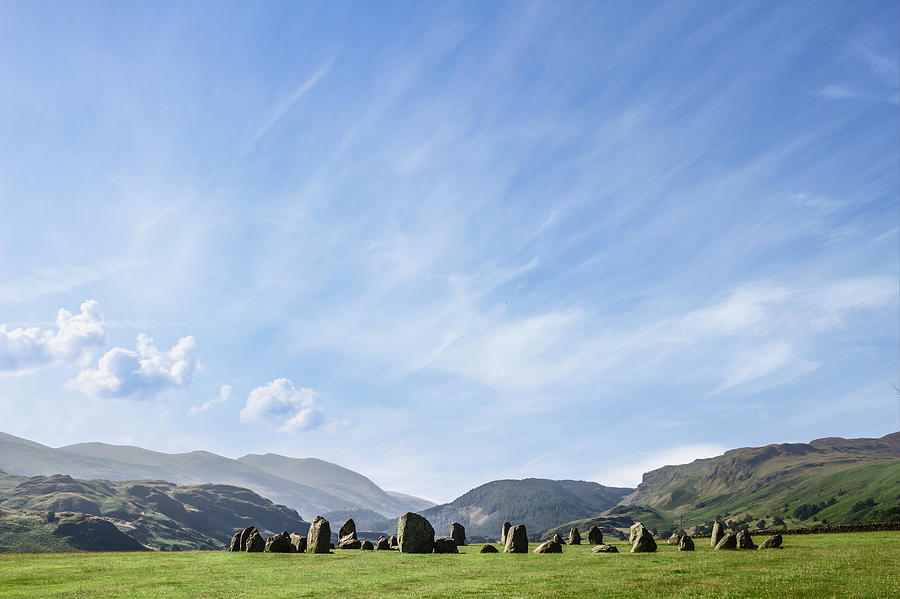 Castlerigg Stone Circle, Lake District Photograph by David Madison