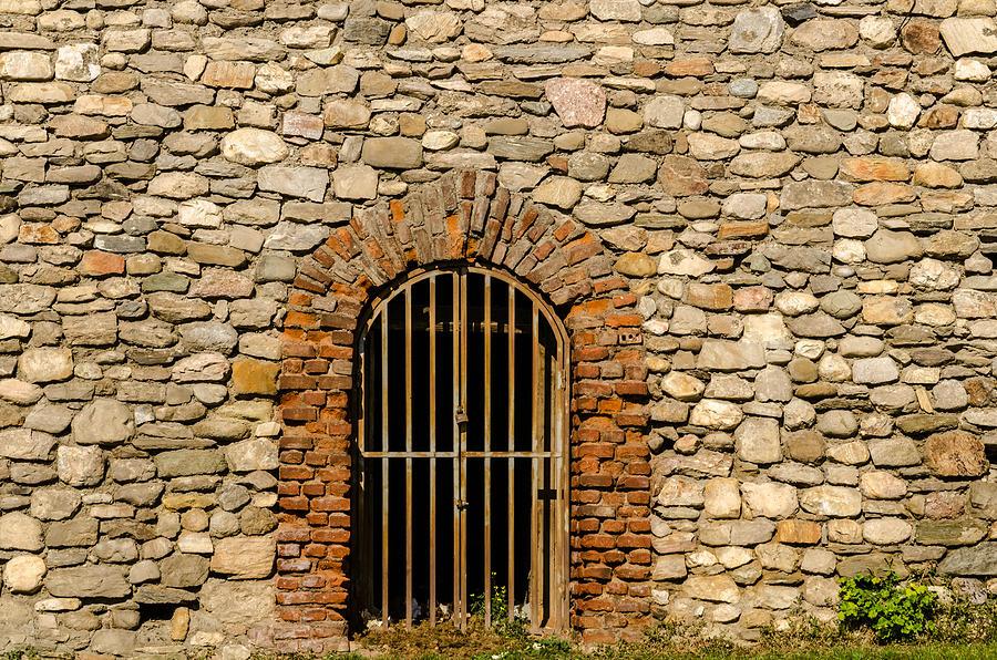 Ancient Photograph - Castles Door. by Slavica Koceva