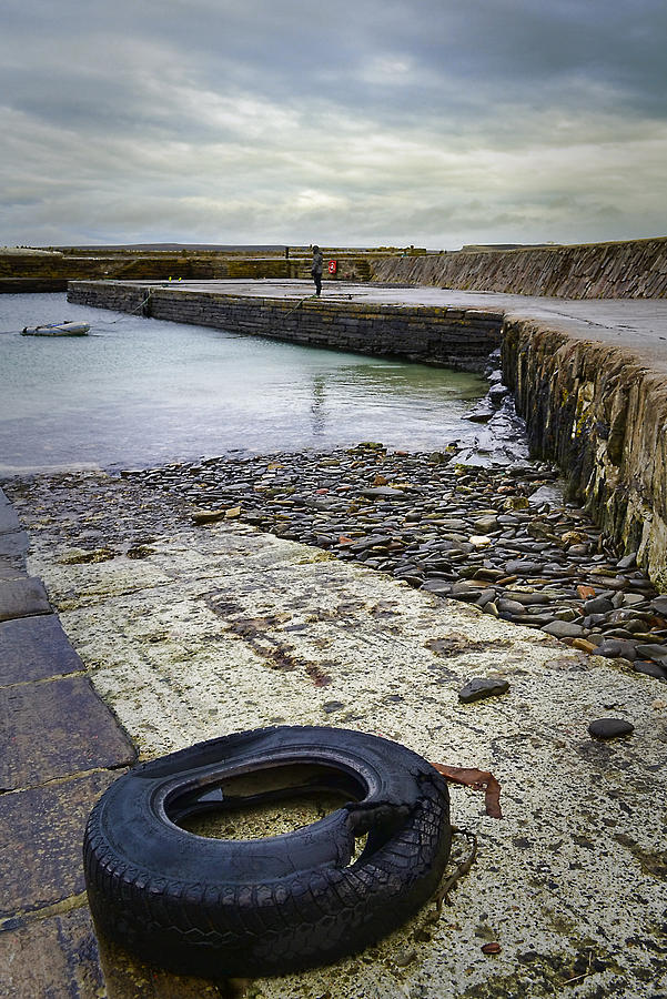Caithness Photograph - Castletown Harbour by Chris Cardwell