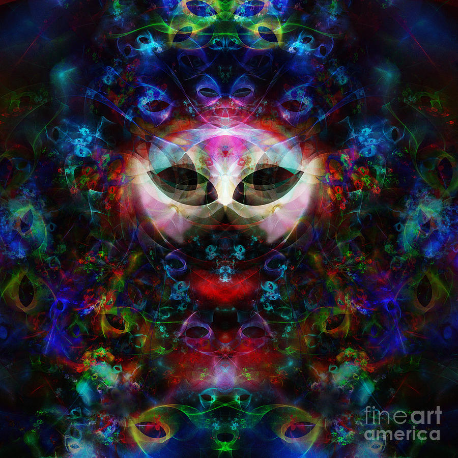 Cat Digital Art - Cat Carnival by Klara Acel