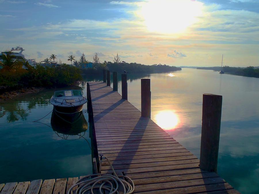 Cat Island Photograph - Cat Island Dock by Carey Chen
