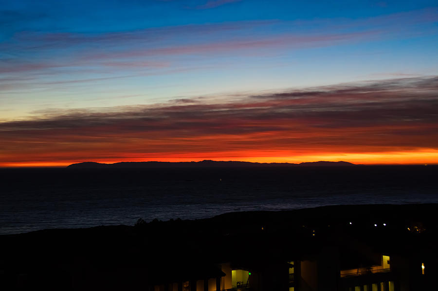 Pennys Photograph - Catalina Island Sunset by Penny Lisowski