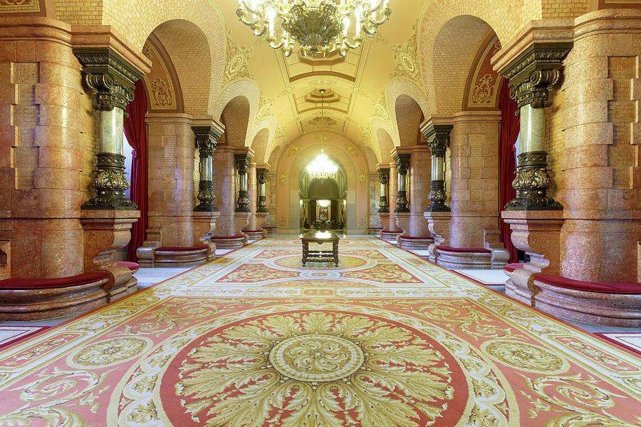 Catalonia Parliament Building, Parc De Photograph by Cultura Rm Exclusive/quim Roser
