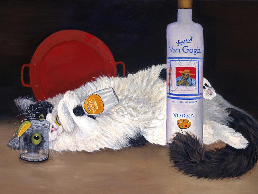 Art And Photography Painting - Catatonic by Karen Zuk Rosenblatt